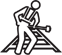Roadway Right-of-Way Worker Icon