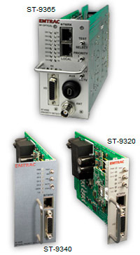Photos of Combination Optical-RF Priority Detector and Two and Four Channel Priority Detectors